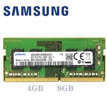 サムスンのノートパソコン ddr4 ram 8 ギガバイト 4 ギガバイト 16 ギガバイト PC4 2133 mhz または 2400 mhz 2666 mhz 2400 t または 2133 1080p 2666 10v dimm ノートブックメモリ 4 グラム 8 グラム 16 グラム ddr4