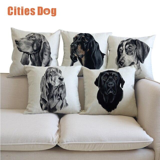Pillow Cushion Black And Tan Coonhound Decorative Pillows Cushions Simple Black And Tan Decorative Pillows