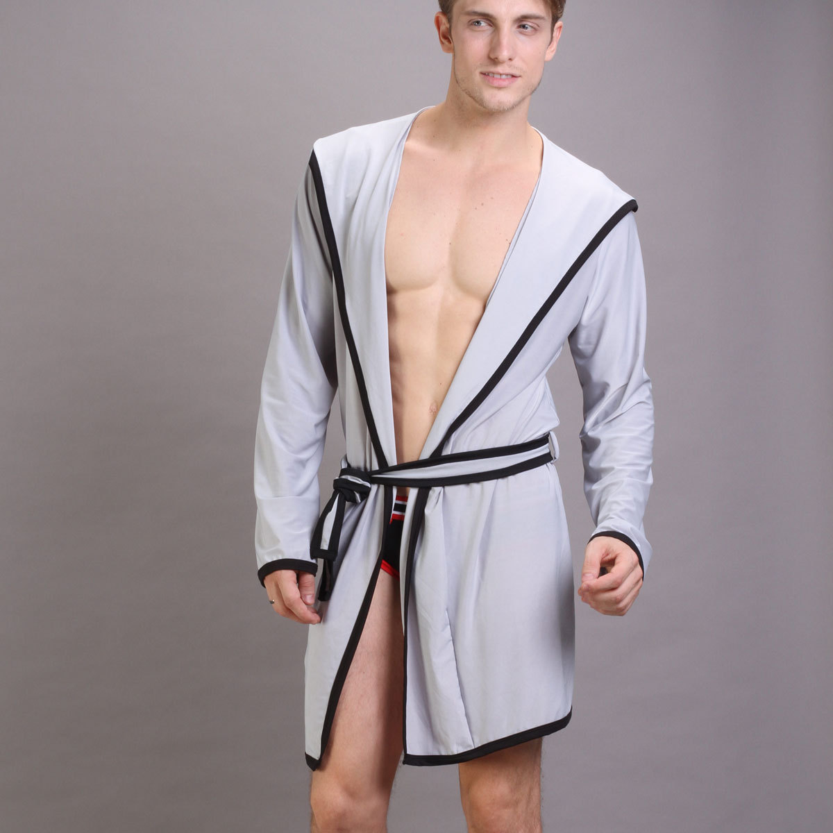 2013 summer male bathrobe viscose sexy robe lounge ... a3a1de14d