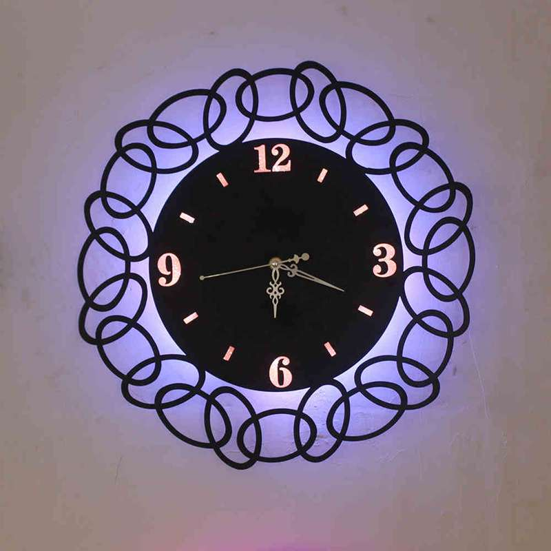 New arrival clock wall lamps led warm tv loft angel iron morden new arrival clock wall lamps led warm tv loft angel iron morden simple living room bedroom hanging lights ac 90 260v in wall lamps from lights lighting on aloadofball Image collections