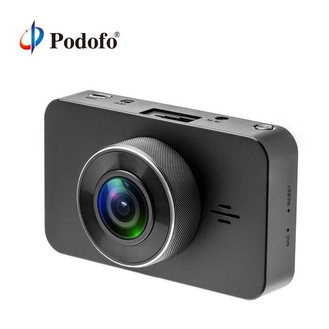 Podofo Car DVR Camera Dual Lens 3'' GPS Positioning Video Recorder Registrator Car Camcorder DVRs Dash Cam with Reversing Camera