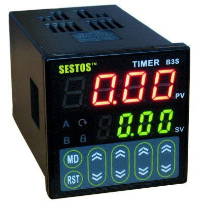4 Digitals Tact switch LED 110-240V Digital Quartic Timer dc 12v led display digital delay timer control switch module plc automation new