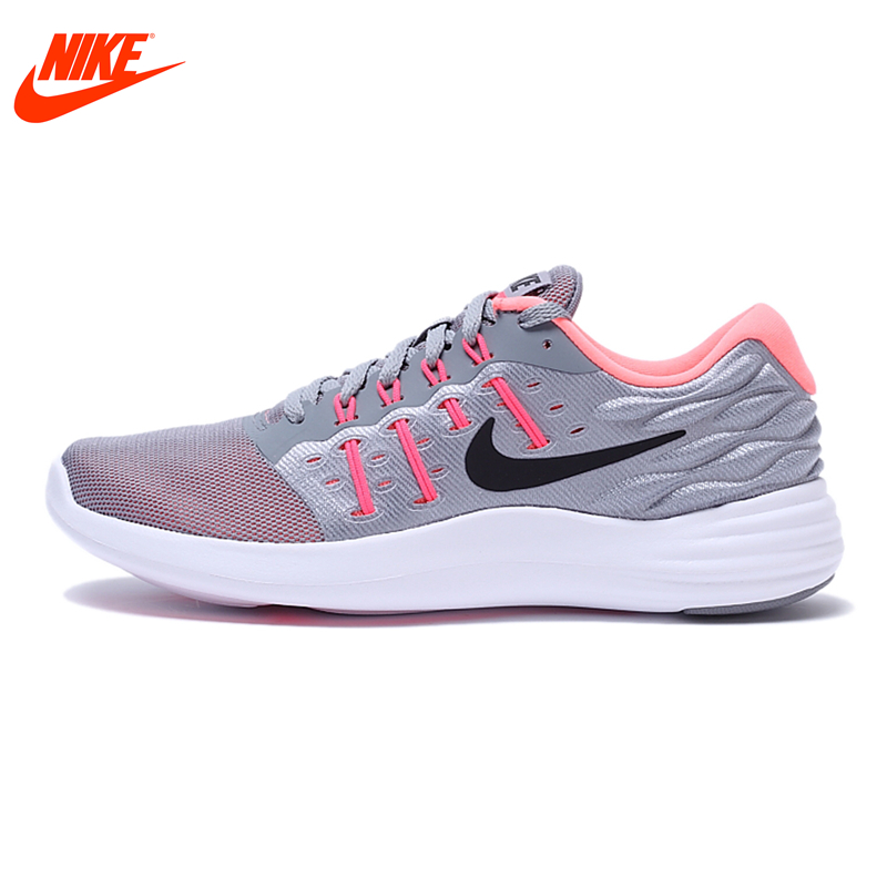 Original New Arrival Official NIKE Breathable LUNARSTELOS Women's Running Shoes Sneakers Outdoor Walking Ladies Athletic original new arrival official nike revolution 3 breathable men s running shoes sports sneakers outdoor walking jogging athletic