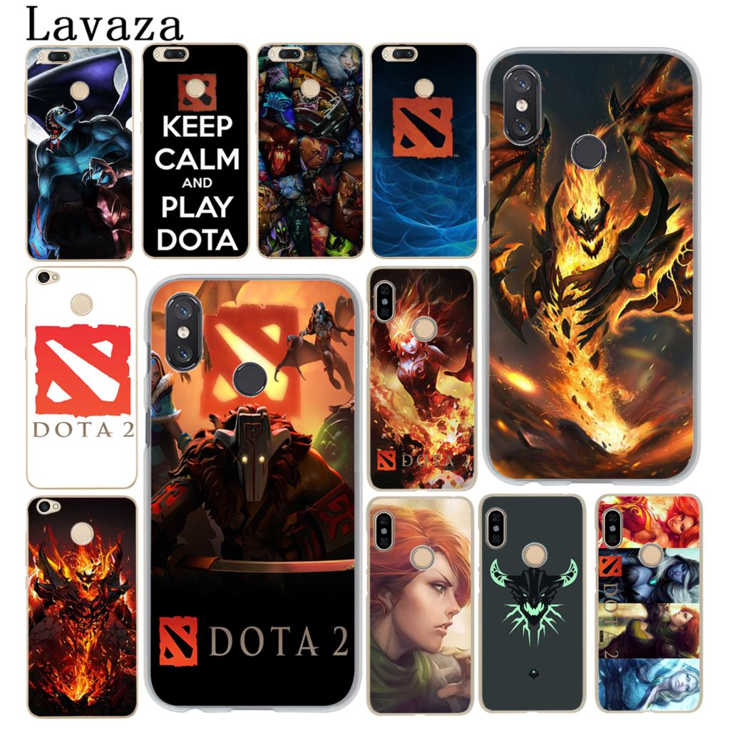 Lavaza Shadow Fiend Dota 2 logo Fashion Phone Case for Xiaomi MI 8 SE A2 Lite A1 pocophone f1 5 5X 5S 6 6X MIX 2S MiA2 MiA1 Mi8