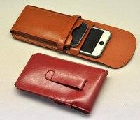 Smartphone universale Del sacchetto Del sacchetto Per il iphone 6 6 s 6 plus Portafoglio custodia In Pelle Microfibra Sacchetto Del Telefono Del Manicotto Del Sacchetto Per iphone 7 7 plus