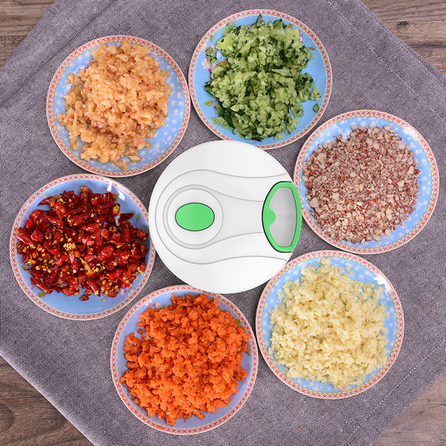 Vegetable Cutter Multifunctional Hand Pull Chopper Spiral Slicer Manual Meat Fruit Shredder Crusher Grater Kitchen Accessories