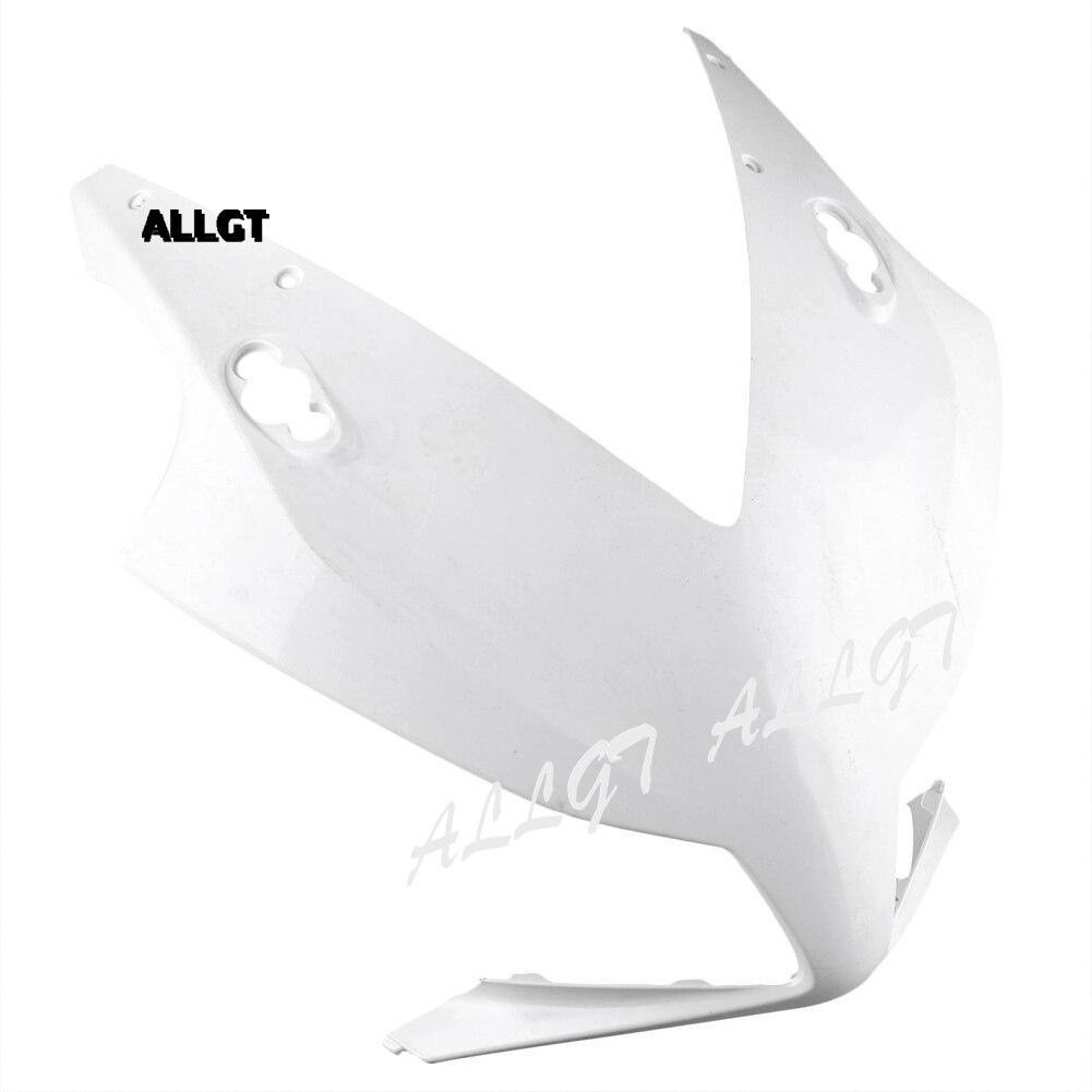 ALLGT мотоцикл Новый 1 x неокрашенный передняя Обтекателя Клобук нос подходит для 2012 2013 2014 Honda ЦБ РФ 1000rr инъекций неокрашенный АБС