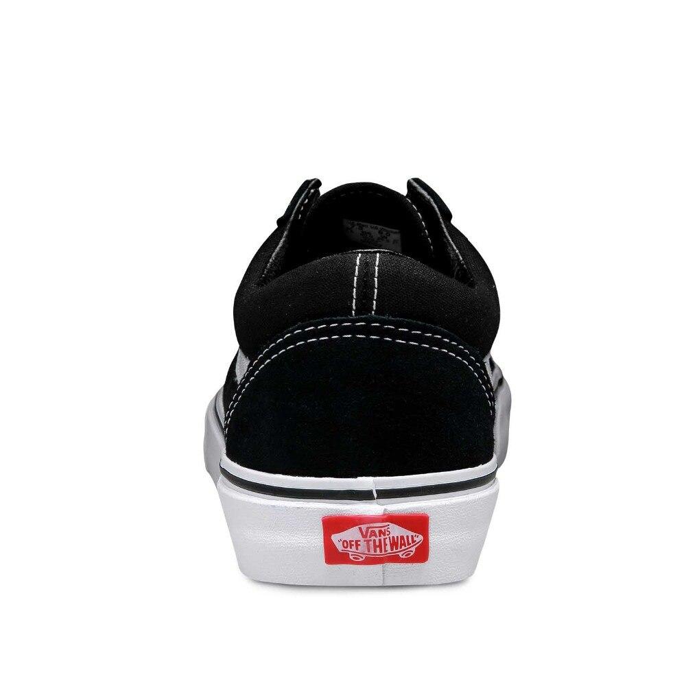 dbbf4f975f8 Original New Arrival Vans Clássico Old Skool Unisex Dos Homens   das  Mulheres de Skate Sapatos de Desporto Ao Ar Livre Tênis de Lona VN 0D3HY28  em Sapatos ...