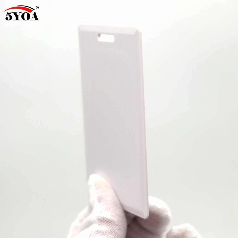 """100 יחידות EM4305 T5577 עבה ריק כרטיס 1.8 מ""""מ RFID שבב כרטיסי 125 khz עותק לצריבה חוזרת הניתן לצריבת השכתוב לשכפל 125 khz"""