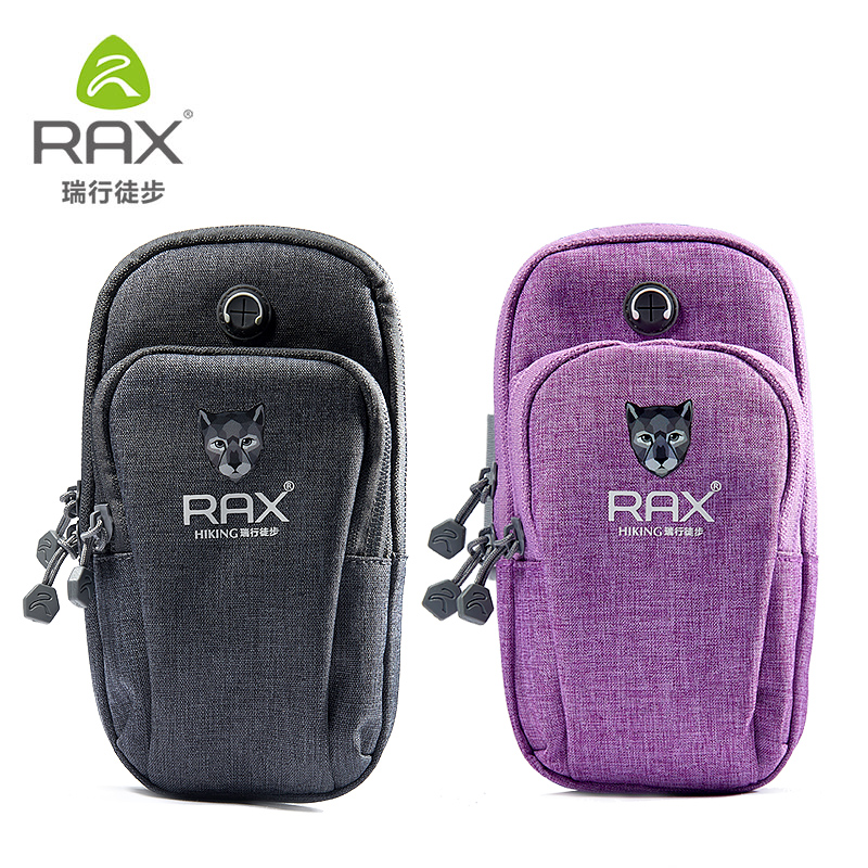 2018 RAX Running Arm Bag Movement Men And Women Arm Pocketbag Phone Bag Wrist Pocketbag ...