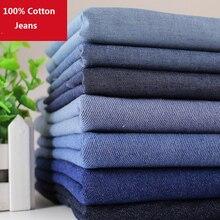 43be29ff32 Agua de lavado Denim 100% algodón pantalones vaqueros de tela gruesa y fina  tipo(