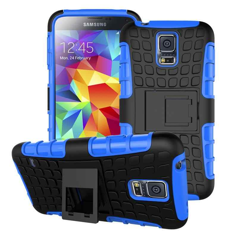 Heavy Duty Armor For Samsung Galaxy S5 Mini Case G800F G800H  Shockproof Hybrid Hard Rugged Silicone Cover For Samsung S5 mini
