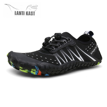 Water shoes Men Women Aqua Shoes Outdoor Beach Plus Size Barefoot Gym Fishing Swimming Multifunctional Footwear