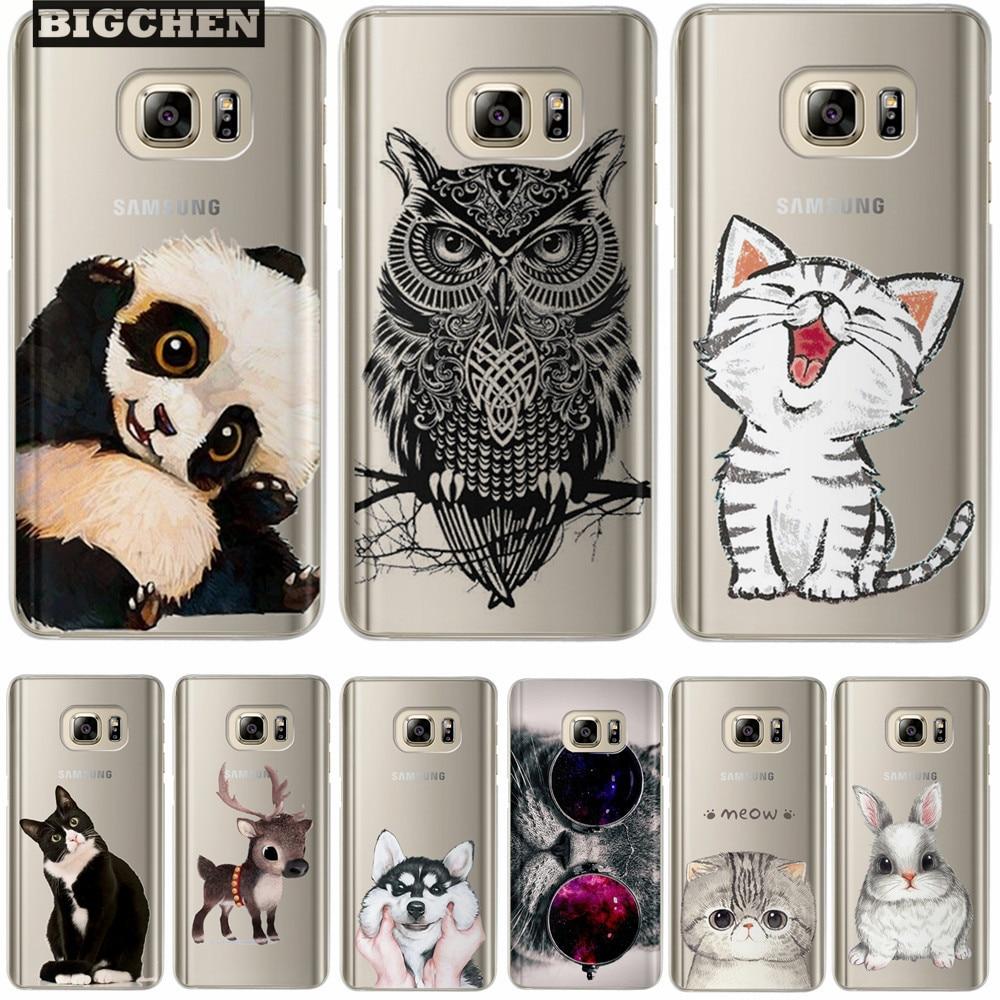 Cute Silicone Case For Coque Samsung Galaxy Grand Prime S4 S5 S6 S7 Edge S8 Plus J2 J3 J5 J7 A3 A5 2017 2016 2015 Cover