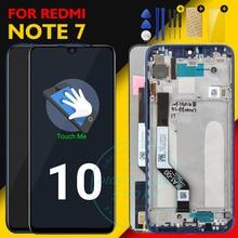 الشاشة الأصلية شاومي Redmi نوت 7 شاشة الكريستال السائل 10 لوحة اللمس Redmi نوت 7 LCD محول الأرقام الجمعية استبدال إصلاح قطع الغيار