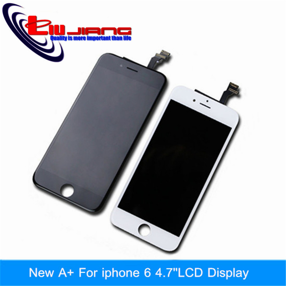 10 pcs/lot 100% Guarantee A+++ lcd display For apple iPhone 6 display Lcd Retina + touch Screen Digitizer + Free Ship DHL