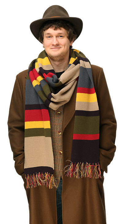 200cm*16cm Dr. Doctor Who 4th Fourth Doctor Tom Baker Striped Scarf Winter Warm Scarf fo ...