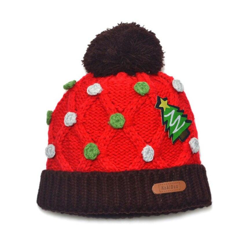 dc13149aad7 Children Unisex Polka Dot Bobbles Beanies Set Girl Boys Knitted Hats Kid  Kids Winter Warm Caps Skullcap MZ3147-in Skullies   Beanies from Apparel ...