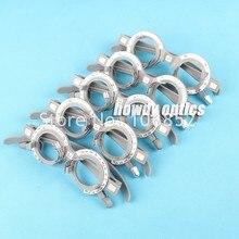 5 pces trial frame conjunto ótico trial lens frame plástico cinza cor 52-68 pd opções