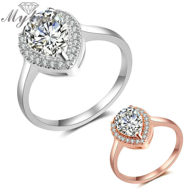 mytys oval heart cubic zirconia high quality wedding rings. Black Bedroom Furniture Sets. Home Design Ideas