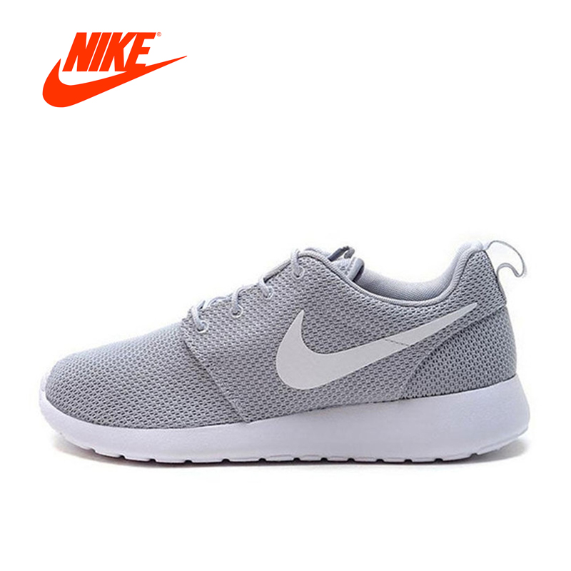 NIKE Mesh Breathable ROSHE ONE GS Men's Running Shoes Sneakers women jogging New sneakers Arrival Original female shoes original nike roshe one hyp br women s running shoes sneakers