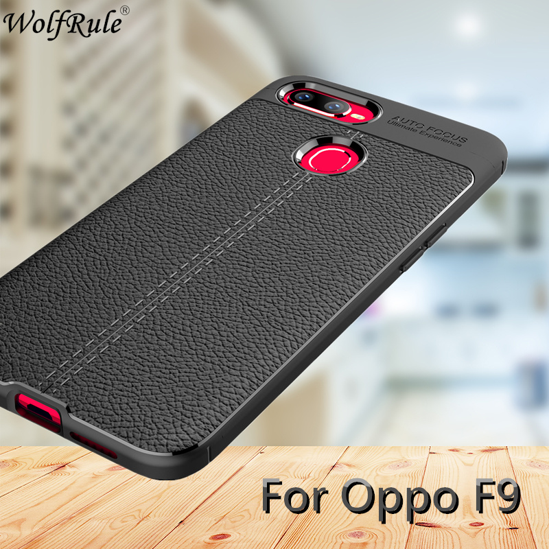Oppo F9 Case Cover Soft Silicone Leather Design Case For Oppo F9 Phone Cover AntiKnock Smartphone Shell For Oppo F9 Pro Case 6.3