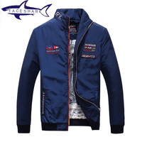 Original Brand Mens Jackets And Coats Luxury Tace Shark Embroidery Jacket Male Clothing Spring Autumn Mens