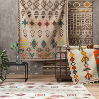 Manual Weave Three dimensional Decorative Pattern Wool Carpet Posimi Second Morocco Modern The Edge Of The Blanketgc193kilyg40