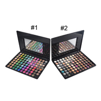 New Professional Makeup Palette 88 Full Warm Color Chocolate Eyeshadow Palette High Pigment Palette