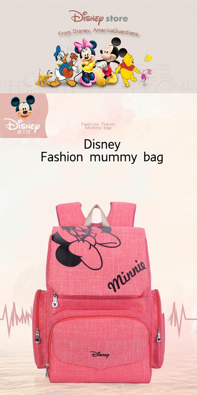 HTB1rY61aznuK1RkSmFPq6AuzFXas Disney Mickey Minnie Large Capacity Mummy Maternity Nappy bag Baby Travel Backpack Designer Nursing Bag For Baby Care Diaper Bag