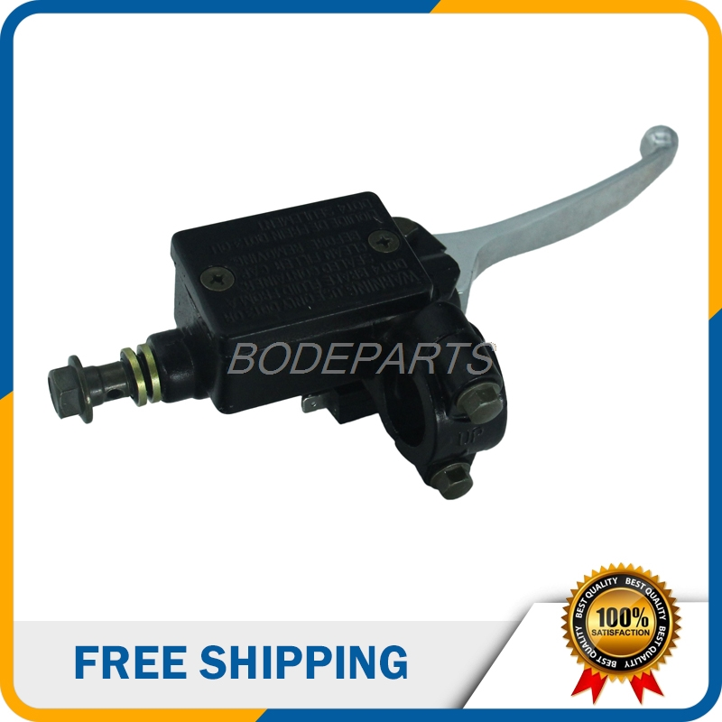 Motorcycle Parts Universal Motorcycle Brake Clutch Pump Master Cylinder Lever Handle For ATV Dirt Bike Scooter Free Shipping black universal motorcycle bike front lever switch brake clutch through hole cable 2 wires