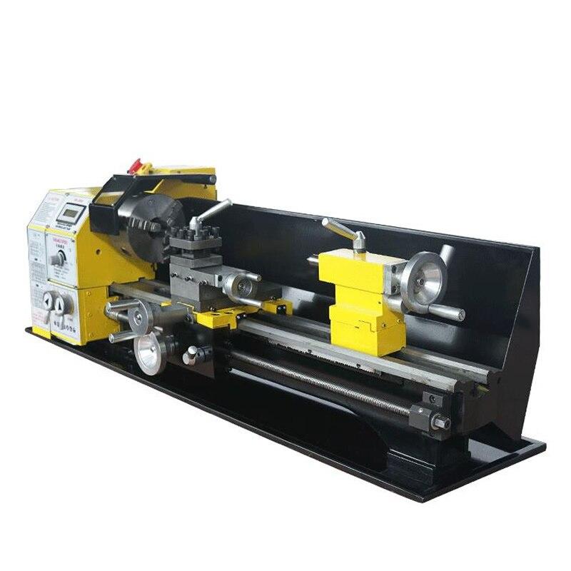 Pequeno mini máquina de torno mecânico contas Buddha casa Máquina de processamento de metal livre de impostos para RU