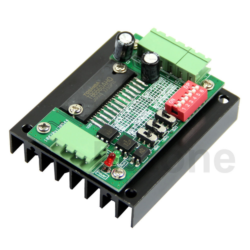 Single 1 Axis 3.5A TB6560 Stepper Stepping Motor Driver Board Control CNC Router-3Z new high quality cnc 3 axis tb6560 stepper motor driver board control pad lcd set hy tb3 kh