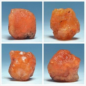 Natural brasileño pequeño de piedra de ágata roja colgante de la joyería de DIY de procesamiento de materiales de piedra pequeña de mineral de especímenes