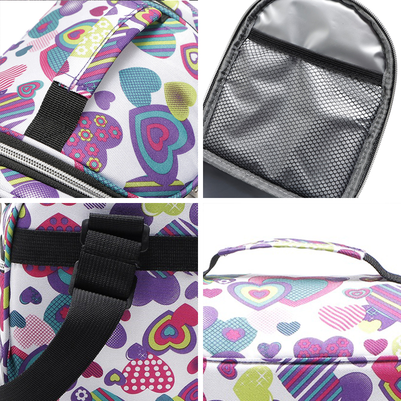 Купить с кэшбэком SIKOTE Portable Thermal Lunch Bags for Women Kids Men Insulated Tote Bag Storage Container Multifunction Food Picnic Cooler Box