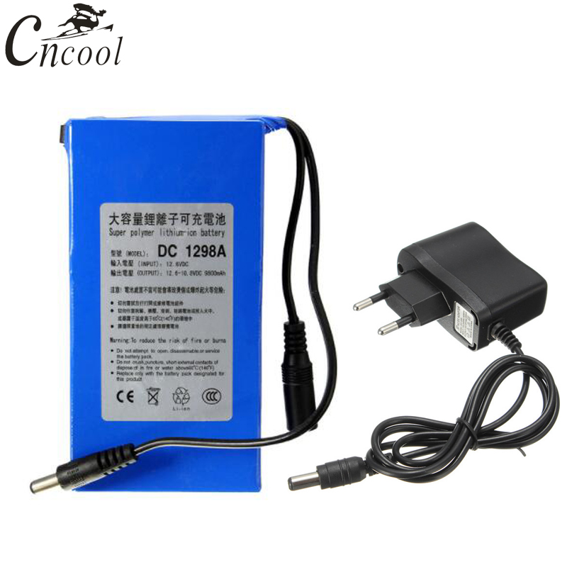 Long Life Rechargeable Lithium-ion Battery Pack with 8V DC 6800mAh Output