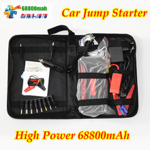 Mini Portable 68800mah Car Jump Starter High power battery source pack charger vehicle engine booster emergency