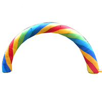 Colorful inflatable Arch Arc inflatable arch tent on sale