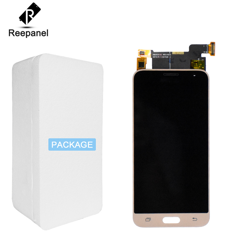<font><b>LCD</b></font> Display Für Samsung Galaxy J3 2016 J320F J320DS J320G J320M <font><b>J320</b></font> <font><b>LCD</b></font> <font><b>Touch</b></font> Screen Digitizer Assembly Ersatz + Reparatur werkzeug image
