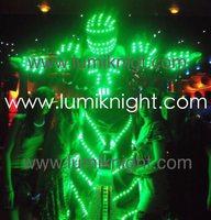 Led kostium/led odzież/światło garnitury/led robot garnitury/świecące kostium/led lights kostiumy