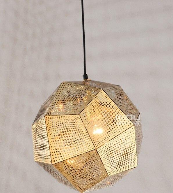 Modern Lighting Designe Etch Web Pendant Lamps Lights For Bedroom Living Room Suspension Luminaire E27 220V Lampara Vintage New