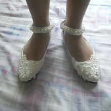 White Lace Bandage Wedding High Heels Big Size 34-43 for Shemales & crossdressers