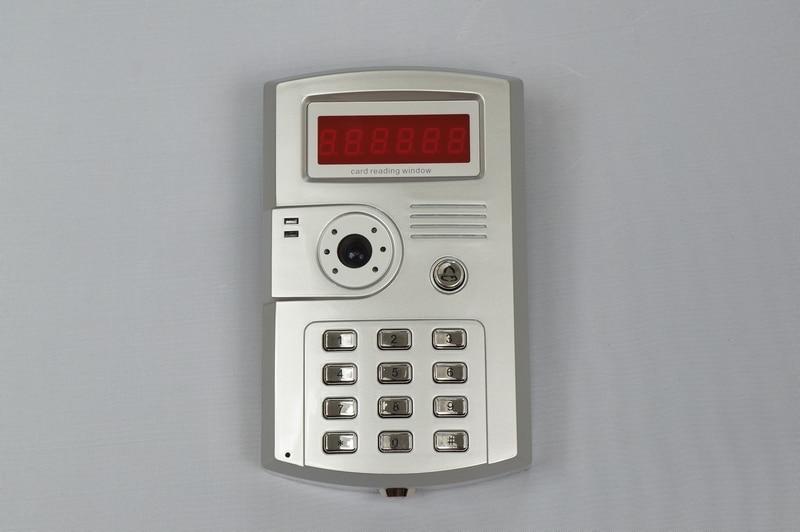 Outdoor Password Access Control Doorbell Camera For Wired Intercom Video Door Phone 7 inch password id card video door phone home access control system wired video intercome door bell