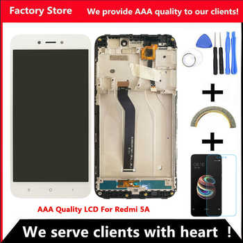 AAA Quality IPS LCD+Frame For Xiaomi Redmi 5A LCD Display Screen Replacement For Redmi 5A Screen Digiziter Assembly - DISCOUNT ITEM  20 OFF Cellphones & Telecommunications