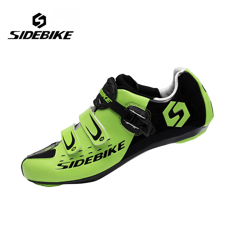 Sidebike Men Road Cycling Shoes Breathable Bike Bicycle Shoes Self-locking Professional  Sneakers Zapatillas Ciclismo sidebike mens road cycling shoes breathable road bicycle bike shoes black green 4 color self locking zapatillas ciclismo 2016
