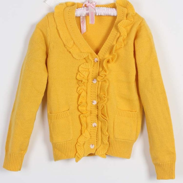 Children Fashion Cardigan Baby Girls Free Knitting Patterns Cardigan ...