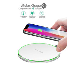 Qi Wireless Charger untuk Xiao Mi Mi 9 8 Se Red Mi Note 7 Pro Pengisian Pad Cradle Dock Charger USB untuk Samsung S9 S8 S7 Edge Note 8(China)