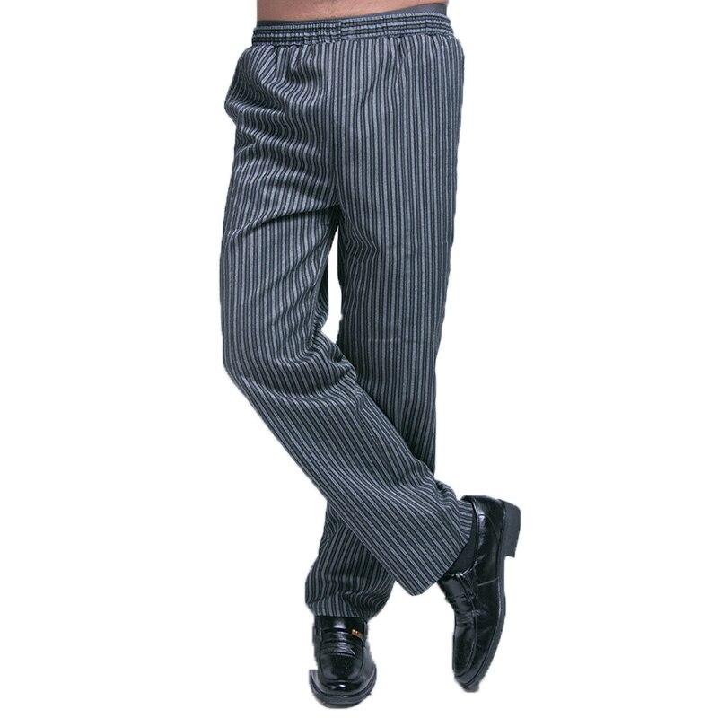 Nowy Szef Kuchni Jednolite Elastyczny Pas Spodnie Szefa