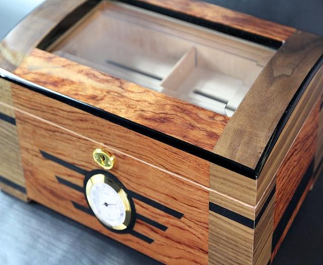 New Cigar Case Humidor Box cedar portable