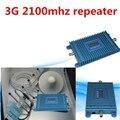 Frete Grátis 3G W-CDMA 2100 MHz Mobile Phone Signal Booster Repetidor Reforço de Sinal 3G Amplificador Com peças 1 CONJUNTOS
